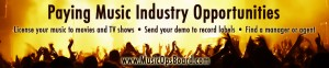 Musicpage.com's Music Ops Board